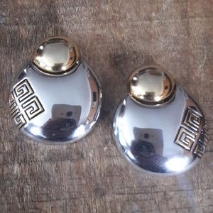 Gorgeous Givenchy Door Knocker Earrings*VINTAGE*